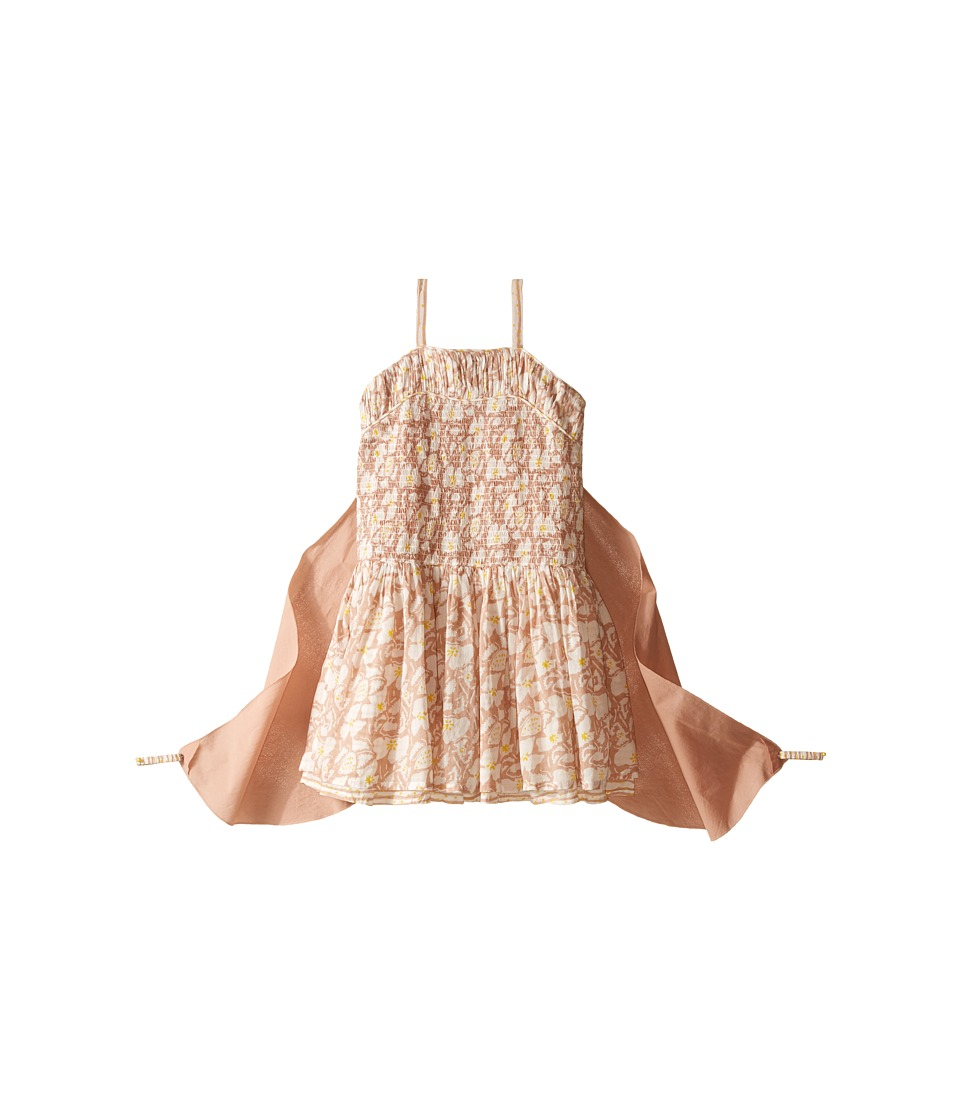 Stella McCartney Kids - Bonny Floral Dress with Detachable Wings (Toddler/Little Kids/Big Kids) (Pink) Girl's Dress