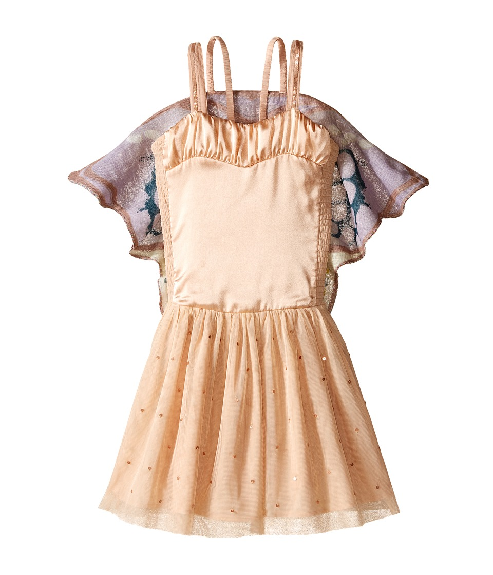 Stella McCartney Kids - Bonny Dress w/ Tulle Skirt Butterfly Wings (Toddler/Little Kids/Big Kids) (Pink) Girl's Dress
