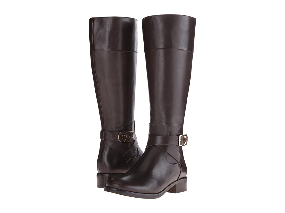 MICHAEL Michael Kors Bryce Tall Boot (Dark Chocolate) Women