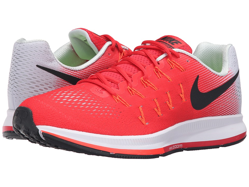Nike - Air Zoom Pegasus 33 (Action Red/Black/Platinum/Total Crimson) Men's Running Shoes