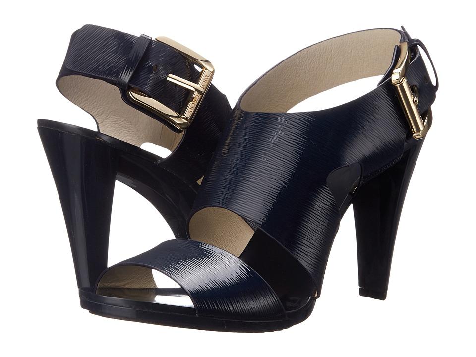 MICHAEL Michael Kors Carla Sandal (Navy) High Heels