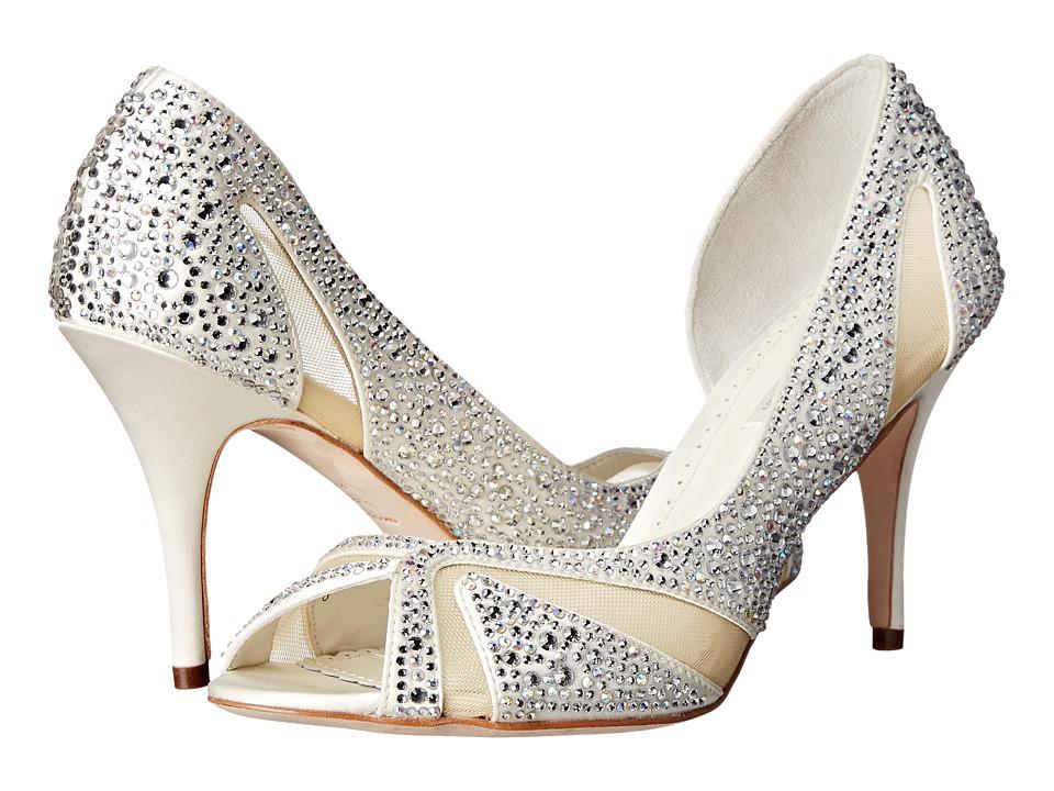 Benjamin Adams London - Catherine (Ivory Duchesse Silk) Women's Shoes