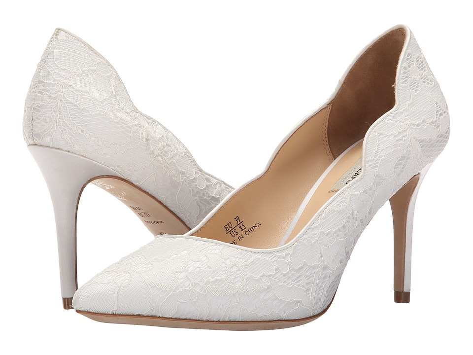 Benjamin Adams London - Diana (Ivory Duchesse Silk/Lace) Women