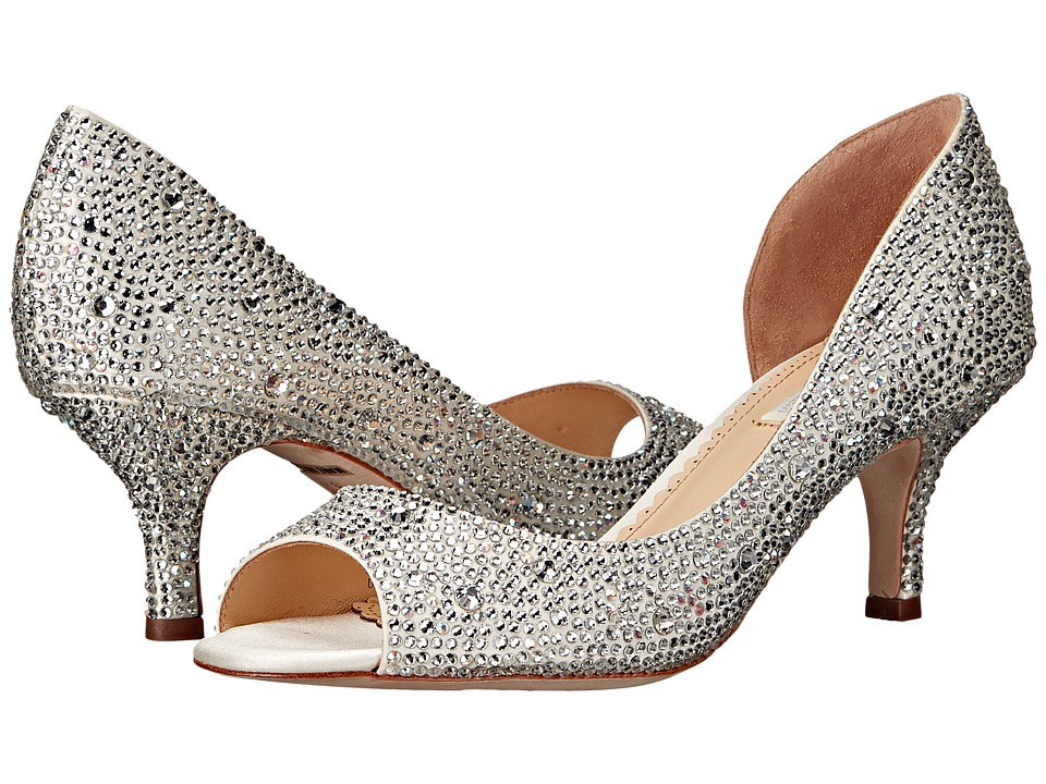 Benjamin Adams London - Divine (Ivory Duchesse Silk) Women's Shoes