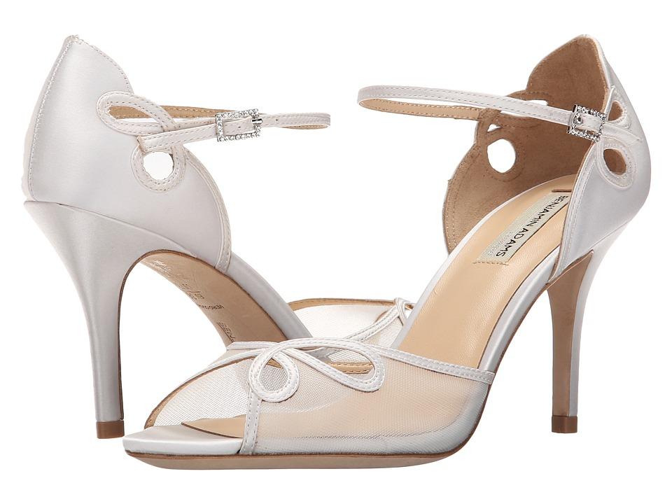 Benjamin Adams London - Lola (Ivory Duchesse Silk) High Heels