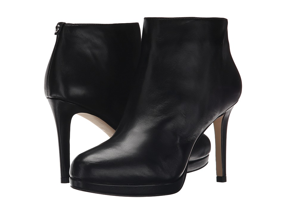 MICHAEL Michael Kors - Sammy Platform Ankle Boot (Black) Women's Boots