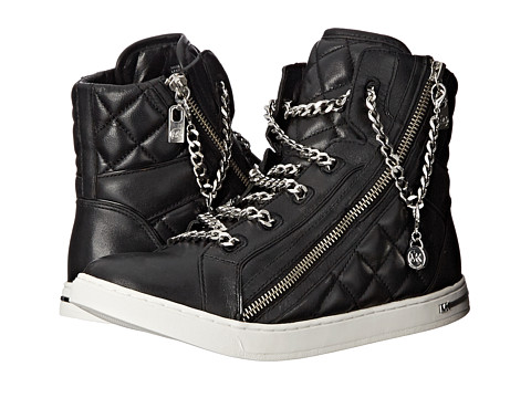 MICHAEL Michael Kors - Urban Chain High Top (Black) Women