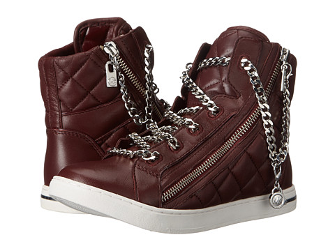 MICHAEL Michael Kors - Urban Chain High Top (Merlot) Women's Shoes