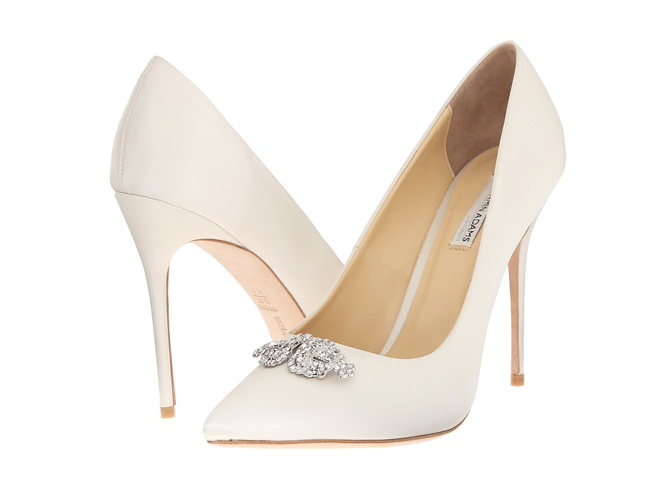 Benjamin Adams London - Felicity (Ivory Duchesse Silk) Women's Shoes