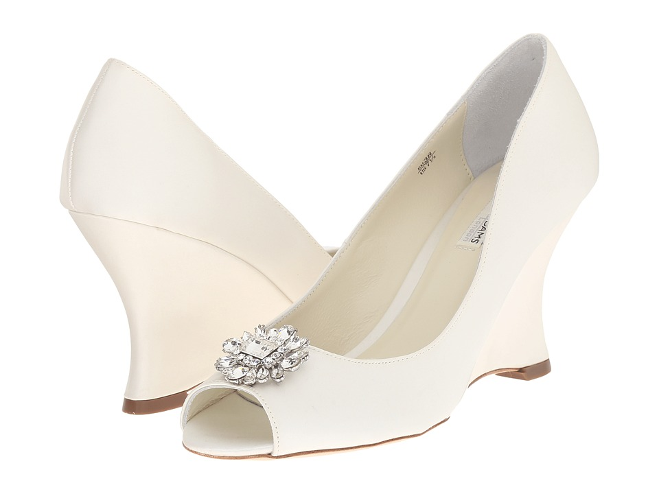 Benjamin Adams London - Helen (Ivory Duchesse Silk) Women's Shoes