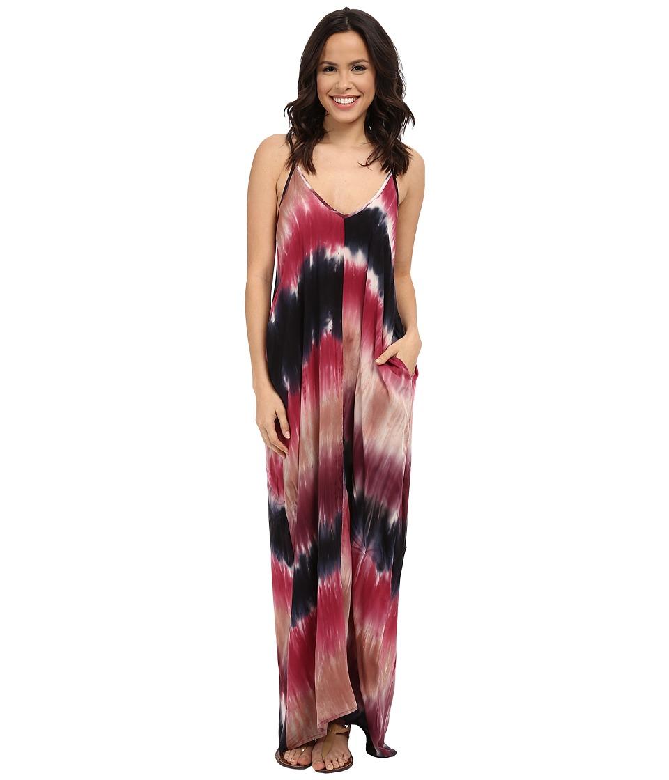 Brigitte Bailey - Alvera Dress (Black/Raspberry) Women's Dress