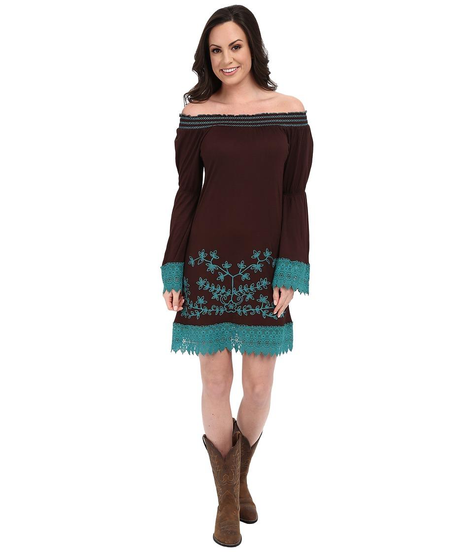 Scully - Patti Dress (Chocolate) Women's Dress