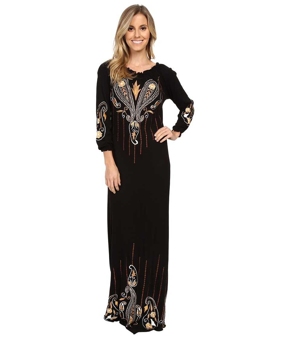Scully - Ravenna Max Dress (Black) Women's Dress