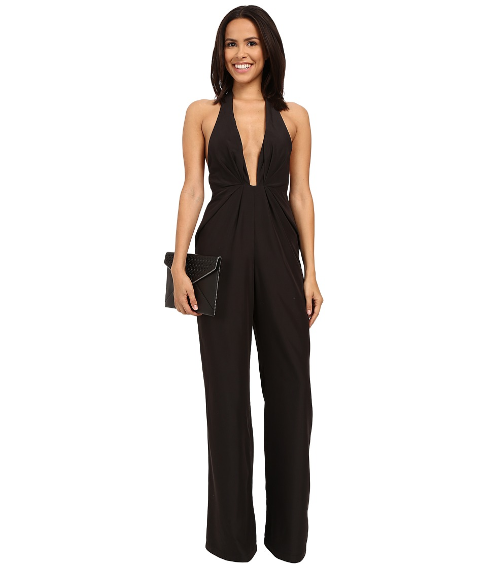 StyleStalker - Sunset Jumpsuit (Black) Women's Jumpsuit & Rompers One Piece