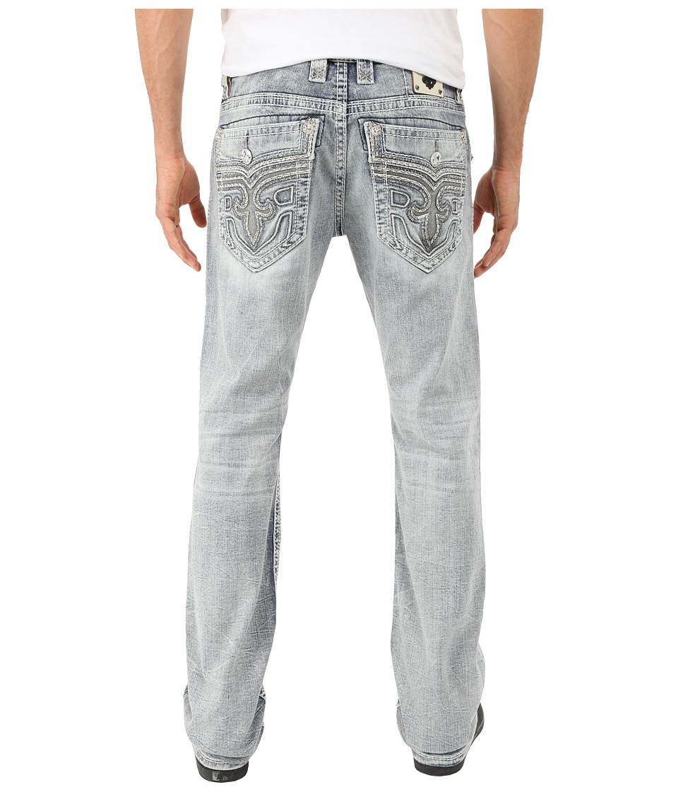 Rock Revival - Lowry A210 Alt Straight (Light Blue) Men's Jeans