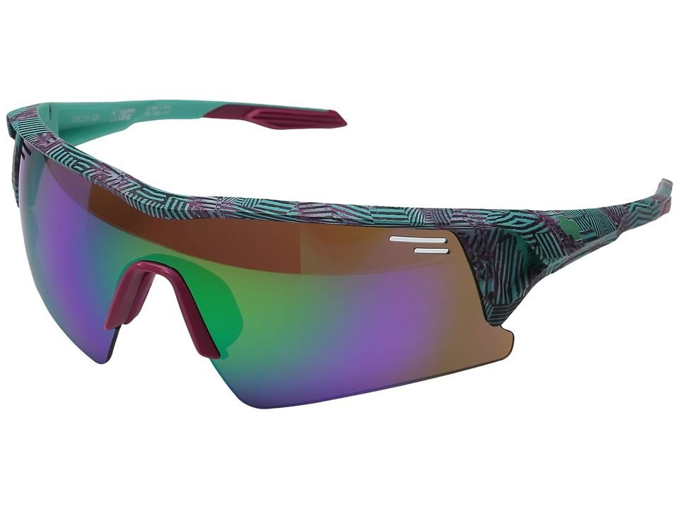 Spy Optic - Screw Over (Infinite Teal/Happy Bronze/Green Spectra/Happy Rose/Clear) Sport Sunglasses