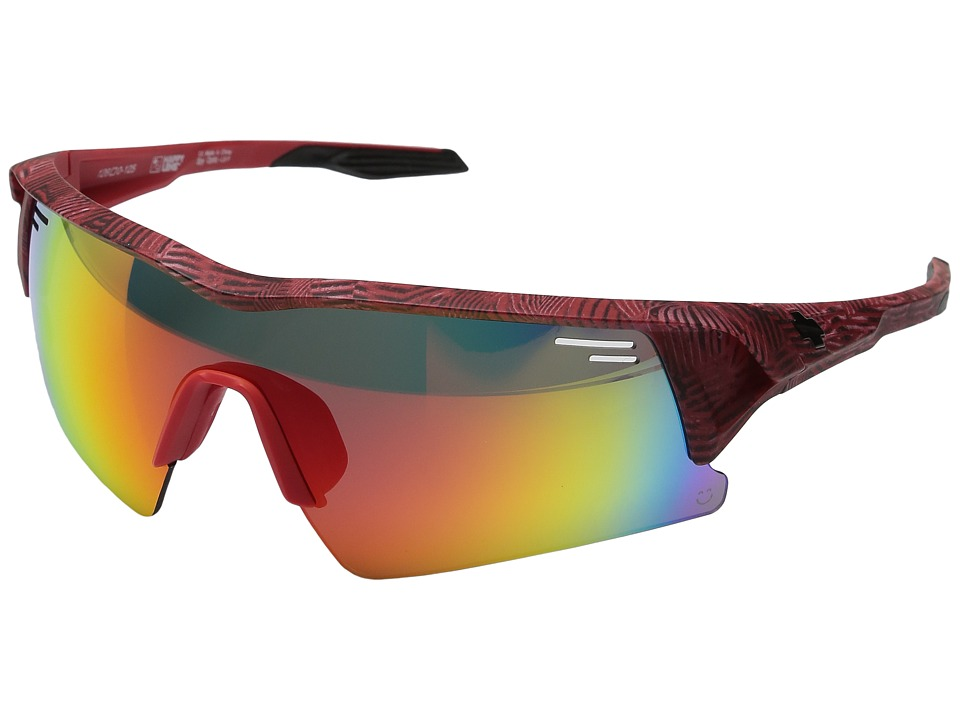 Spy Optic - Screw Over (Infinite Red/Happy Gray Green/Red Spectra/Happy Rose/Clear) Sport Sunglasses