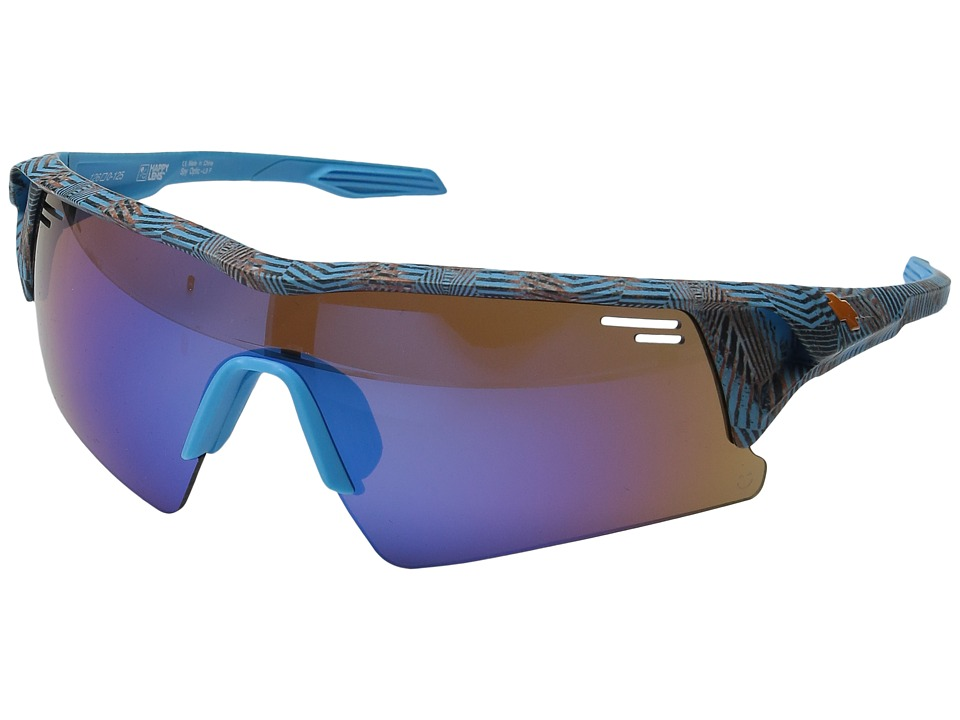Spy Optic - Screw Over (Infinite Blue/Happy Bronze/Dark Blue Spectra/Happy Rose/Clear) Sport Sunglasses