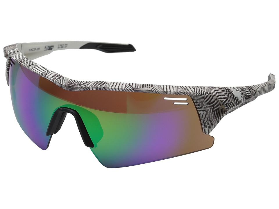 Spy Optic - Screw Over (Infinite White/Happy Bronze/Green Spectra/Happy Rose/Clear) Sport Sunglasses