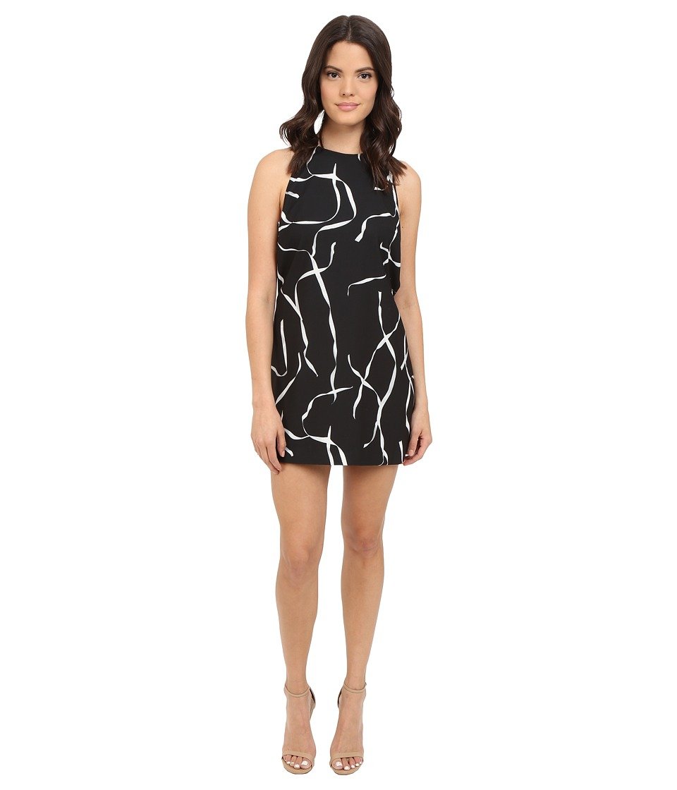 StyleStalker - Ribbon Dress (White Ribbon) Women's Dress