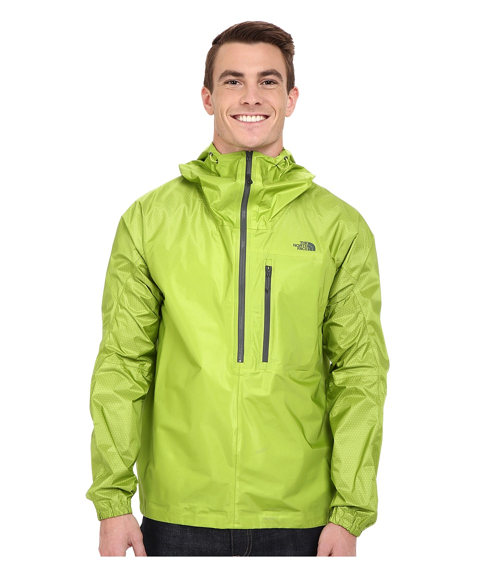 The North Face FuseForm Cesium Anorak (Macaw Green Fuse) Men
