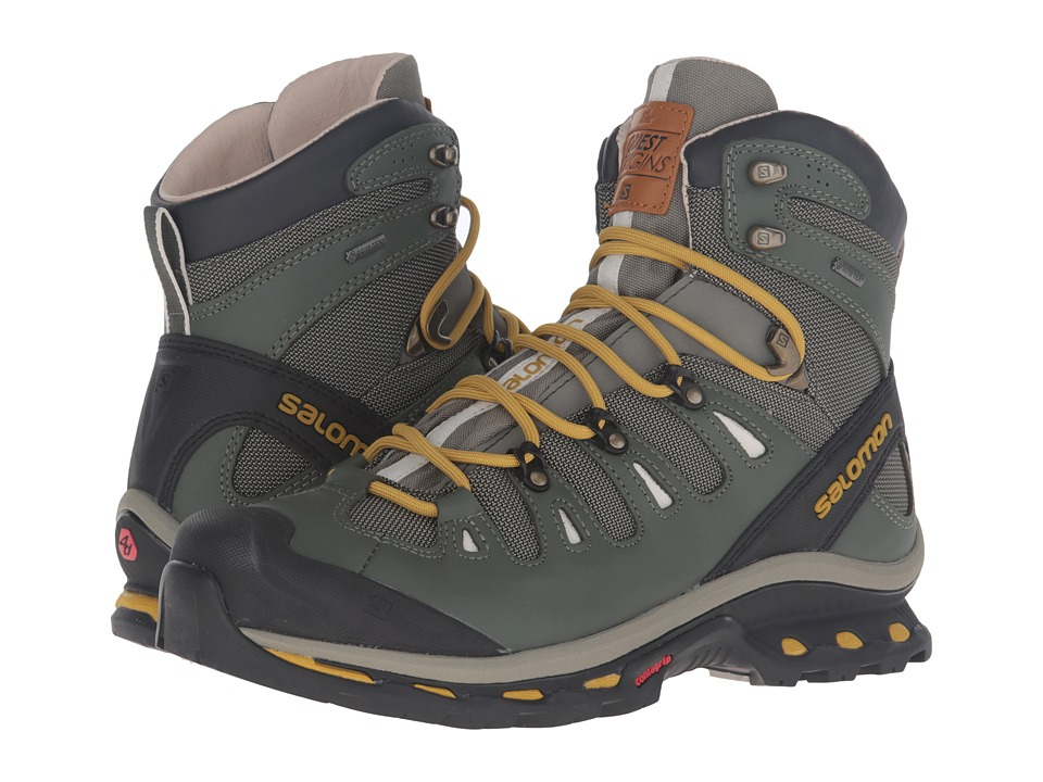 Salomon - Quest Origins 2 GTX (Tempest/Night Forest/Maize) Men's Shoes