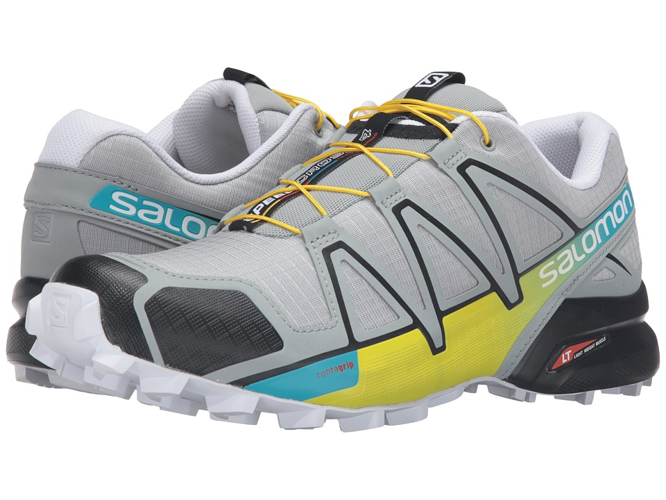 Salomon - Speedcross 4 (Light Onix/Black/Corona Yellow) Men's Shoes
