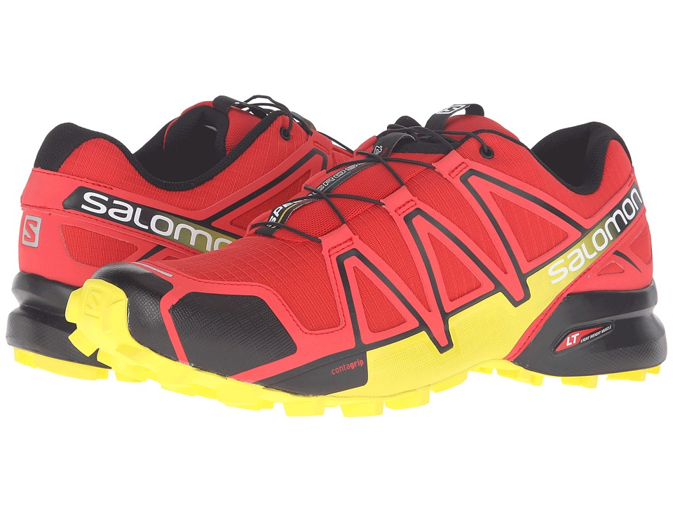 Salomon - Speedcross 4 (Radiant Red/Black/Corona Yellow) Men's Shoes