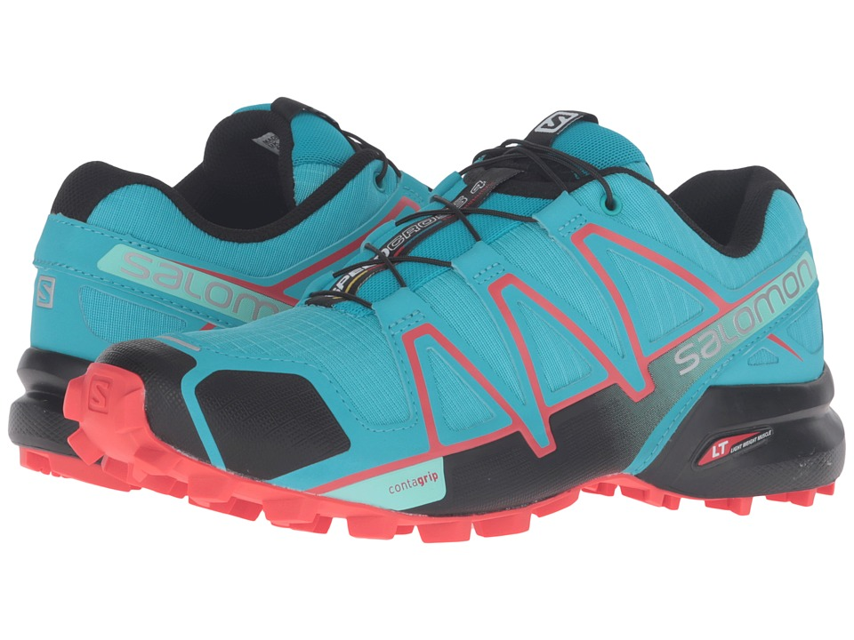Salomon - Speedcross 4 (Blue Jay/Black/Infrared) Women's Shoes