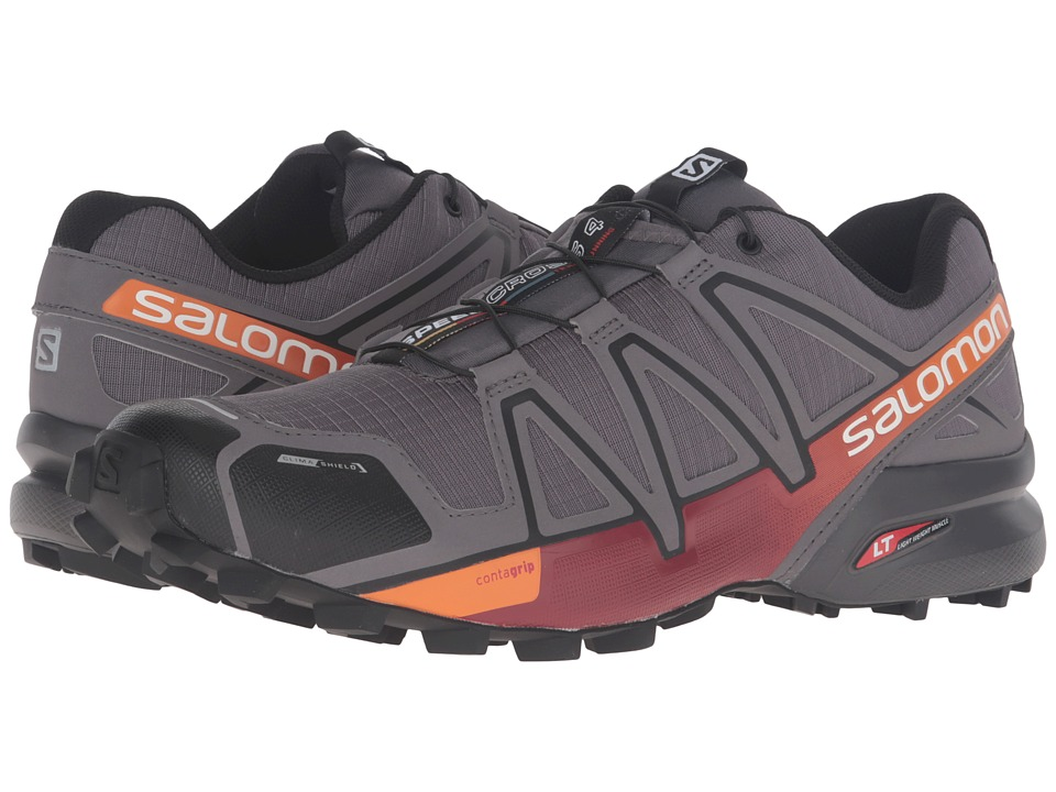 Salomon - Speedcross 4 CS (Autobahn/Detroit/Orange Rust) Men's Shoes