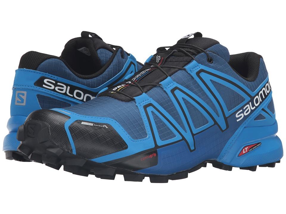 Salomon - Speedcross 4 CS (Blue Depth/Bright Blue/Black) Men's Shoes