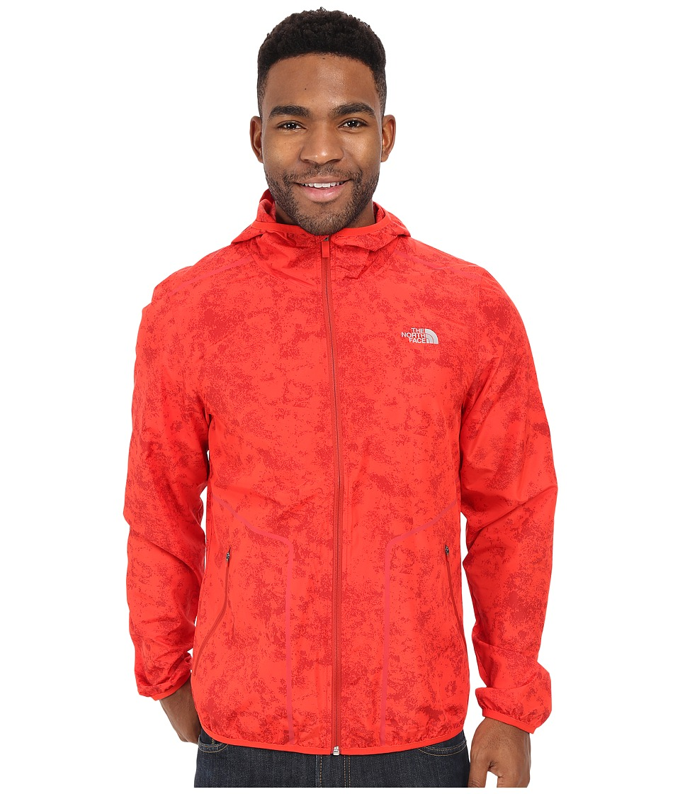 The North Face - Ampere Wind Trainer (Fiery Red) Men's Coat