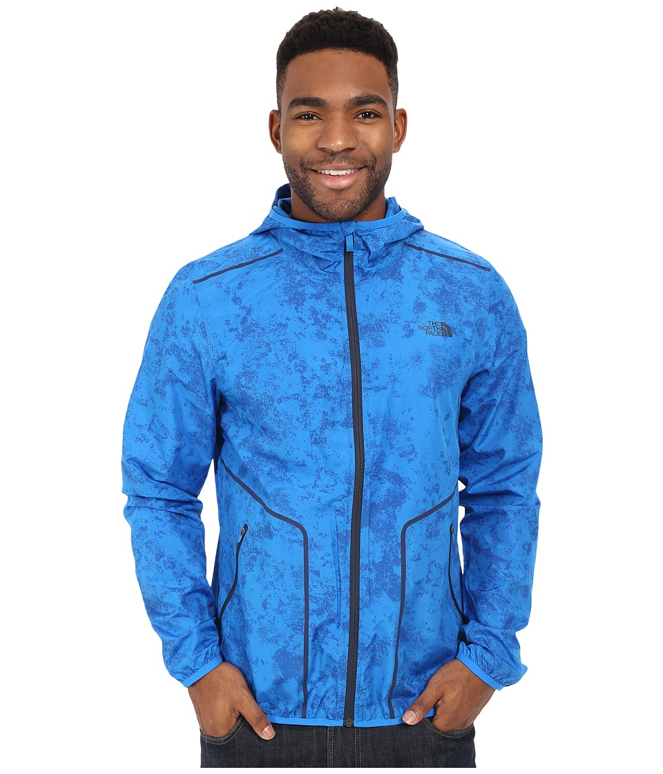 The North Face - Ampere Wind Trainer (Bomber Blue) Men's Coat