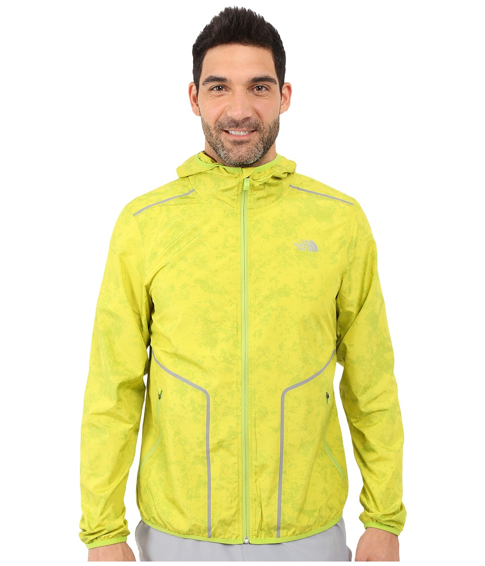 The North Face - Ampere Wind Trainer (Macaw Green) Men's Coat