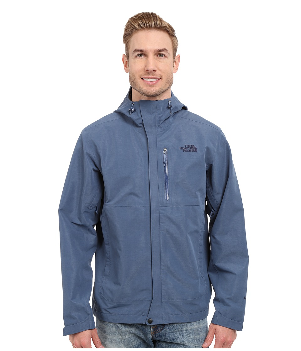 The North Face - Dryzzle Jacket (Moonlight Blue Heather) Men's Coat