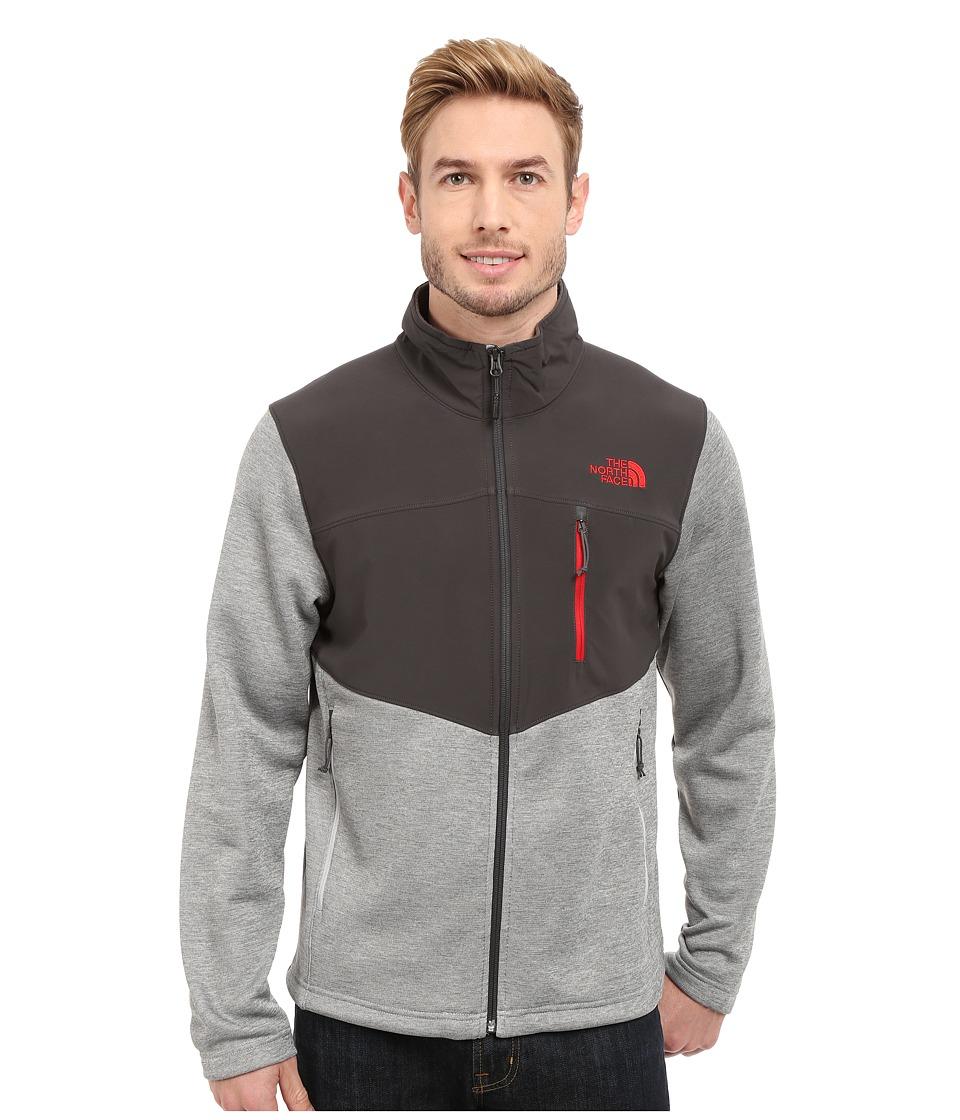 The North Face - Norris Full Zip (TNF Light Grey Heather/Asphalt Grey) Men's Coat