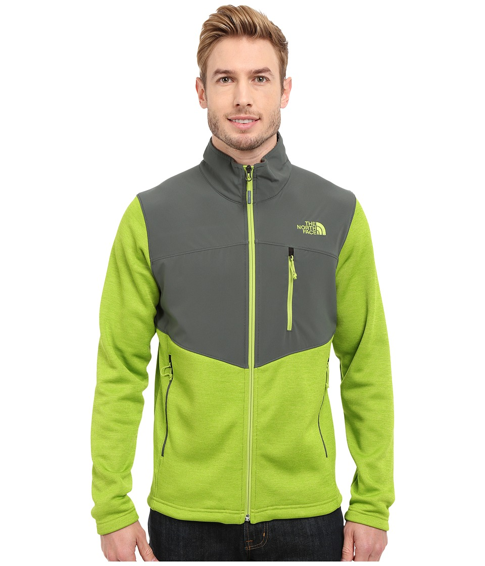 The North Face - Norris Full Zip (Macaw Green Heather/Spruce Green) Men's Coat
