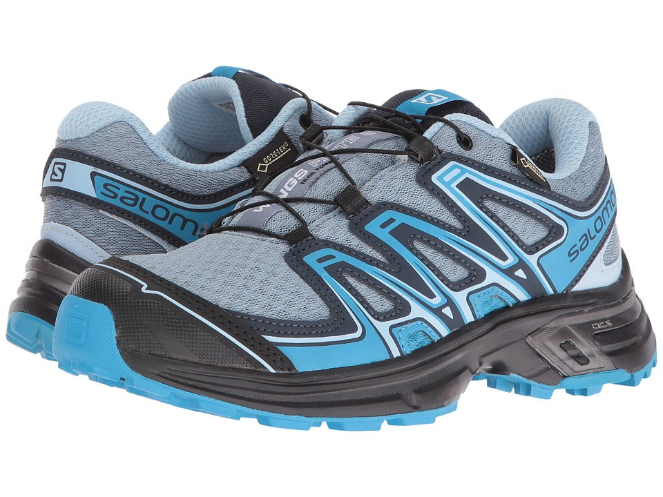 Salomon - Wings Flyte 2 GTX (Windy Blue/Black/Blue Dream) Women's Shoes