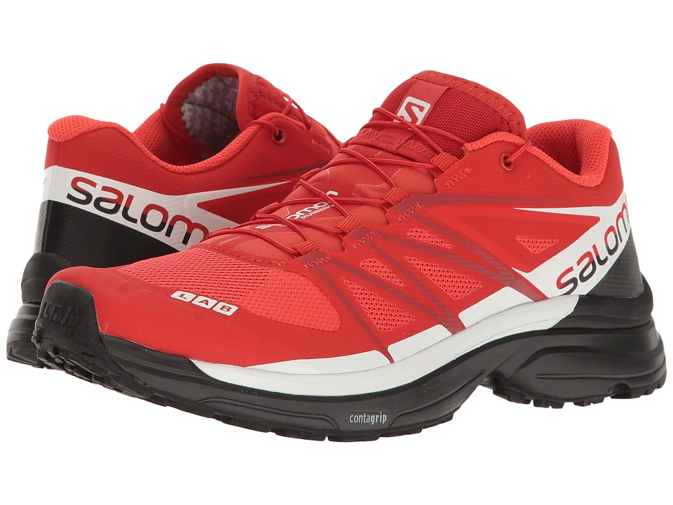 Salomon - S-Lab Wings 8 (Racing Red/Black/White) Athletic Shoes