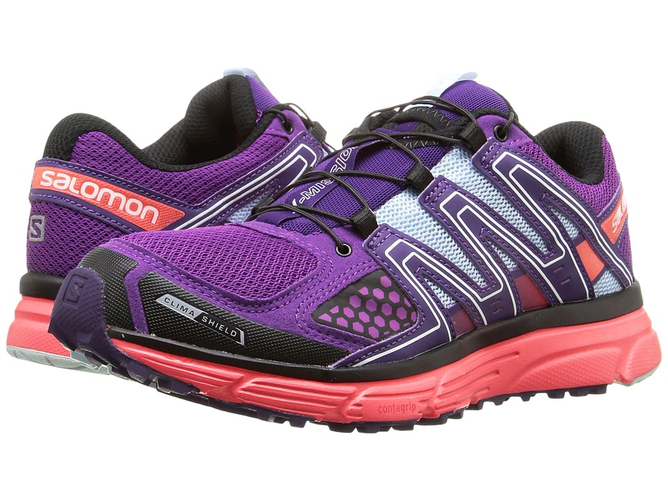 Salomon - X-Mission 3 CS (Passion Purple/Coral Punch/Cristal) Women's Shoes
