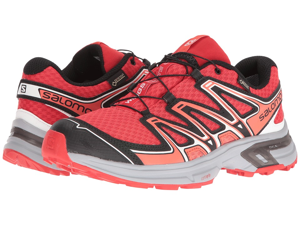 Salomon - Wings Flyte 2 GTX (Infrared/Light Onix/Coral Punch) Women's Shoes