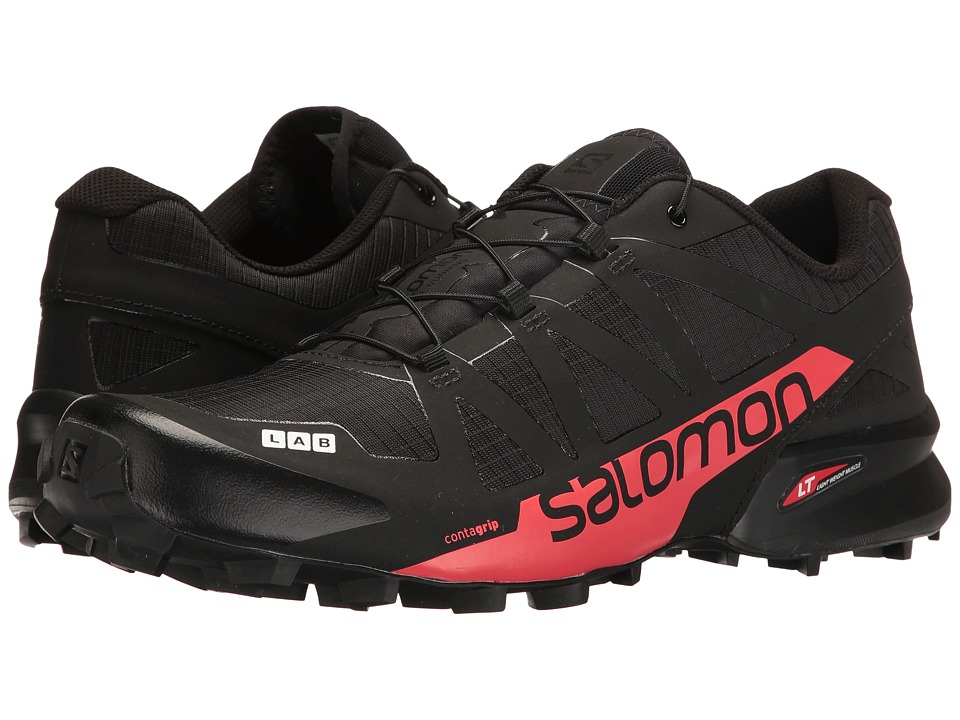 Salomon - S-Lab Speedcross (Black/Racing Red) Athletic Shoes