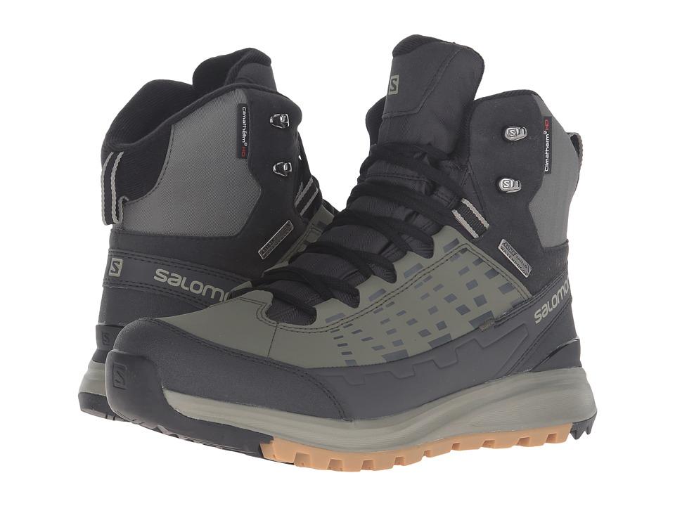 Salomon - Ka po Mid CS WP 2 (Tempest/Asphalt/Dark Titanium) Men's Shoes