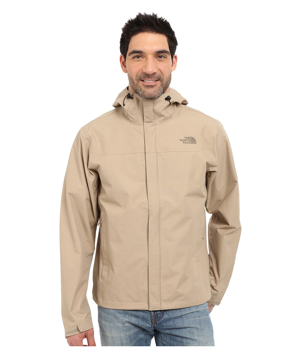 The North Face - Venture Jacket (Dune Beige Heather) Men's Jacket