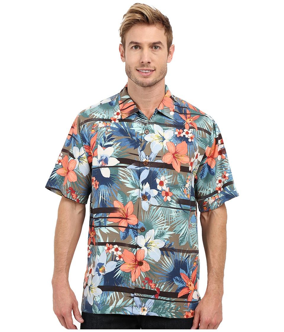 Tommy Bahama - Jungle Horizon Woven Shirt (Brindle Taupe) Men's Clothing