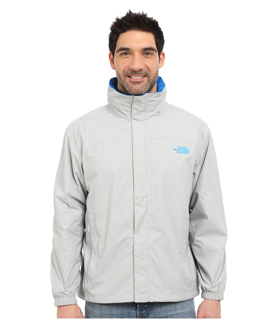 The North Face - Resolve Jacket (High Rise Grey/Bomber Blue) Men's Sweatshirt
