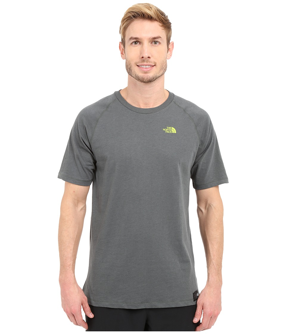 The North Face - Recking Crew (Spruce Green Heather) Men's Clothing