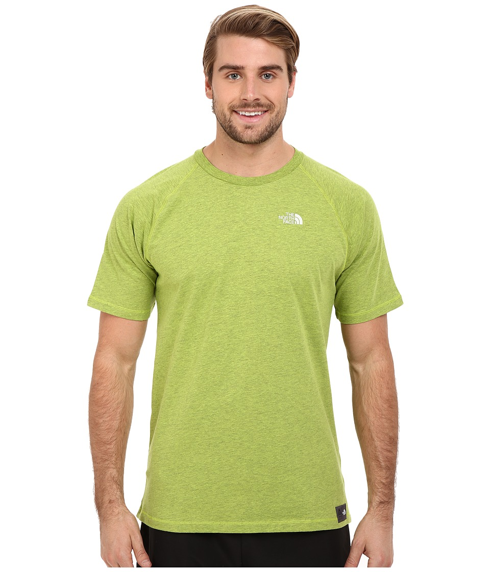 The North Face - Recking Crew (Macaw Green Heather) Men's Clothing