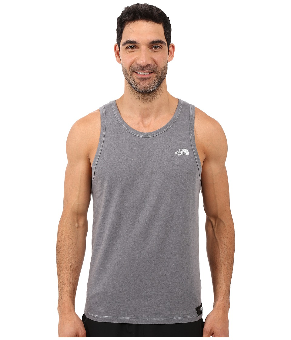 The North Face - Recking Graphic Tank Top (TNF Medium Grey Heather) Men's Clothing