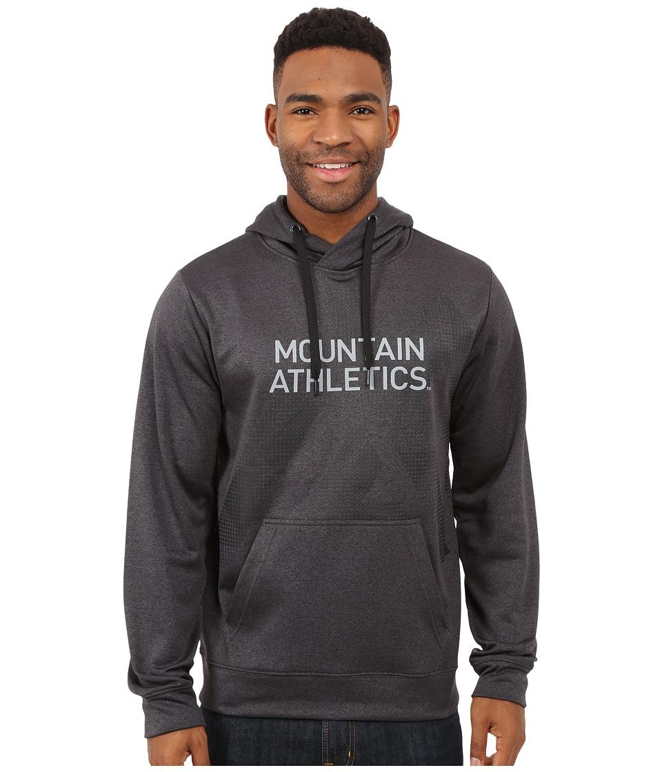 The North Face - MA Graphic Surgent Hoodie (TNF Dark Grey Heather/TNF Black) Men's Sweatshirt